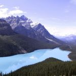 Map, Bucketlist, Inspiration, Peyto Lake